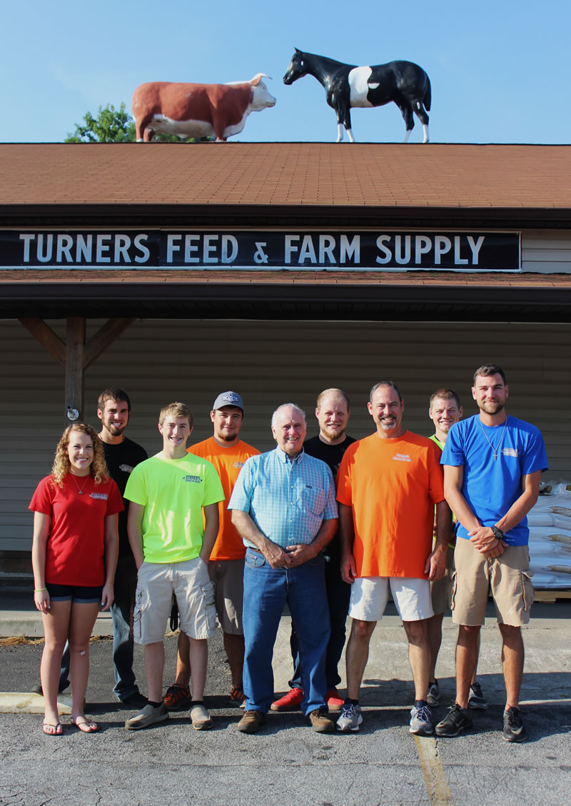 Turners feed and seed staff